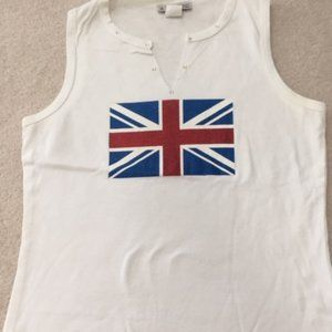 Tank Top with British Flag